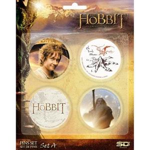 The Hobbit - Set de 4 badges (Set A) SD TOYS