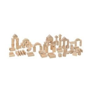 HEROS Les 100 cubes en bois naturel jouet en bois HEROS