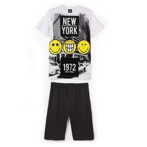 Pijama curto para menino, 10 - 16 anos SMILEY