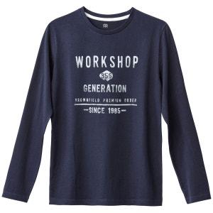 T-shirt manches longues 10-16 ans La Redoute Collections