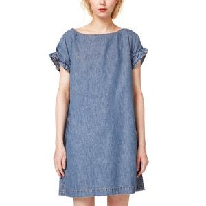 Kurzärmeliges Jeanskleid ESPRIT