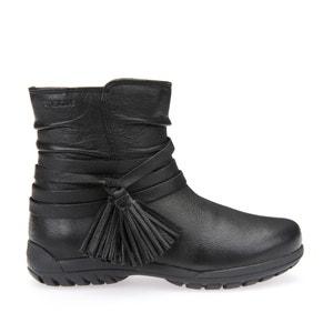 Boots cuir J Crissy E GEOX
