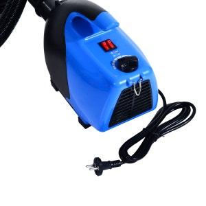 Séchoir sèche-poils toilettage professionnel pour chiens 2600 W bleu - HOMCOM HOMCOM