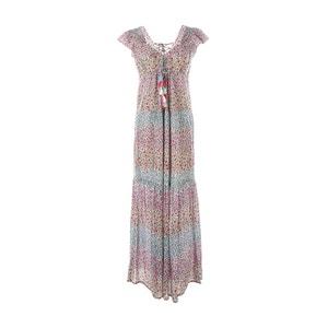 Langes Kleid, bedruckt RENE DERHY