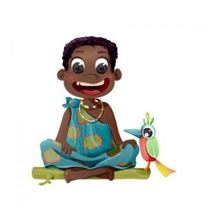 Sticker enfant : Garçon Africain DECOLOOPIO