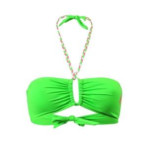 Haut de maillot de bain Bandeau Mimizan Vert Fluo BIKINI BAR