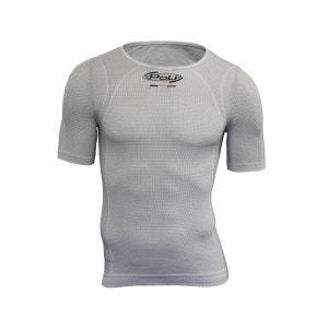 Tee-shirt manches courtes Carbone Cyclisme Poli POLI