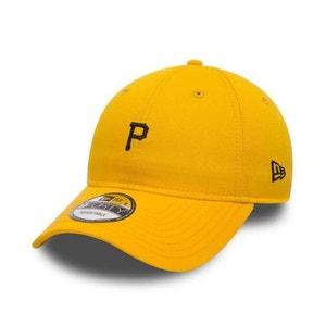 Casquette Incurvée New Era Déstucturée Pitsburgh Pirates Mini Logo 9Forty Jaune NEW ERA CAP