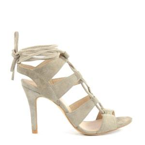 Sandales à lacets à talon SACHA