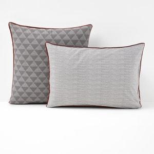 Issor Grey Single Pillowcase La Redoute Interieurs