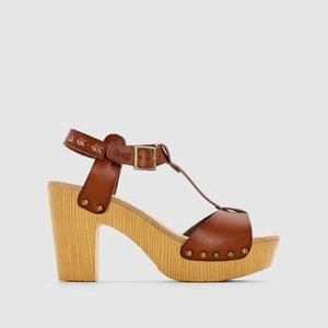 Sandalias de tacón alto, correa en el tobillo, COLETTE COOLWAY