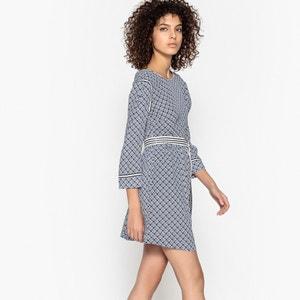Kleid CARELLE, Rückenöffnung, Gürtel SUNCOO