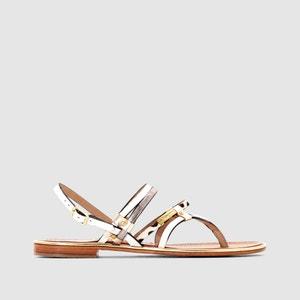 Cumin Flat Leather Sandals LES TROPEZIENNES PAR M.BELARBI