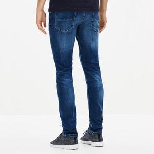 Powerflex® AFOWARBLE slim jeans in stoned stretch denim, lengte. 34 CELIO