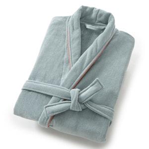 Badjas in fluweel met sjaalkraag 380g/m² La Redoute Interieurs
