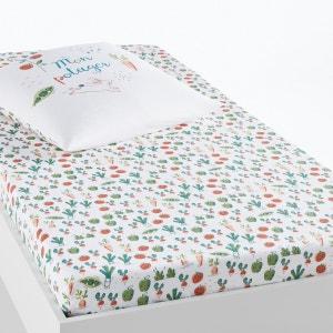 Sábana bajera de algodón orgánico, cama infantil, Potager