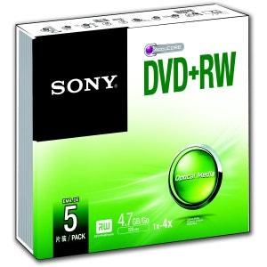 DVD SONY DVD+RW 4.7GB X5 SONY