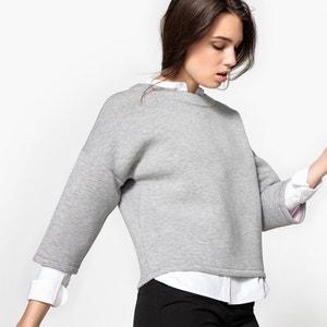 Neoprene Look Sweatshirt La Redoute Collections