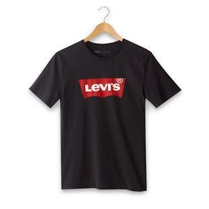 Bedrucktes T-Shirt mit rundem Ausschnitt LEVI'S