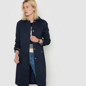 Langer Trenchcoat, Baumwolle R essentiel