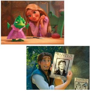 Puzzle 2 x 24 pièces : Princesses Disney : Raiponce RAVENSBURGER