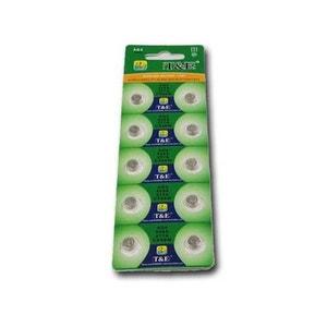 lot de 10 piles bouton 377A, 626A SECURITE GOOD DEAL