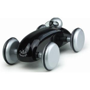 Voiture de course et son pilote : Speedster noir VILAC