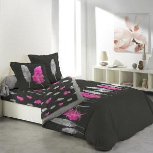 parure de lit drap plat drap housse et taies la redoute. Black Bedroom Furniture Sets. Home Design Ideas
