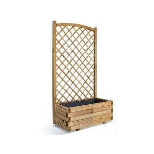 Jardinière en bois rectangulaire Lierre 80 JARDIPOLYS