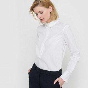 Long-Sleeved Poplin Shirt atelier R