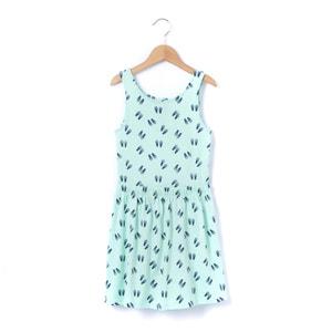 Sukienka bez rękawów z nadrukiem, wycięcie na plecach, 3-12 lat R édition