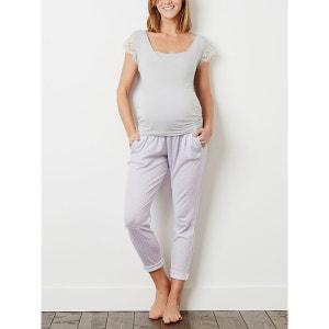 Pantalon pyjama grossesse et post grossesse Colline by Vertbaudet