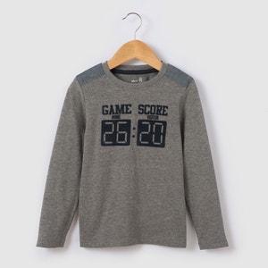 Score Long-Sleeved T-shirt, 3-12 Yrs abcd'R