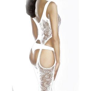 Body collant Venus blanc 40D FIORE