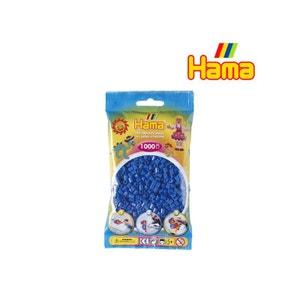 Sachet de 1000 perles Hama Midi : Bleu HAMA