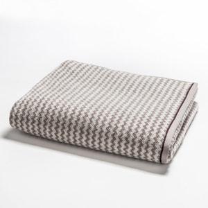 Cabrio Towel with Herringbone Motif La Redoute Interieurs