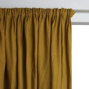 Rideau doublé pur lin à plis flamands Lincoln AM.PM.