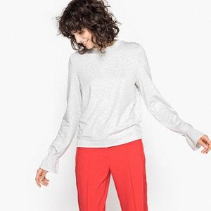 Sweatshirt with Sleeve Detail MADEMOISELLE R