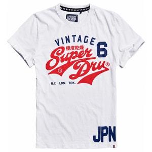 Cotton Crew Neck T-Shirt SUPERDRY