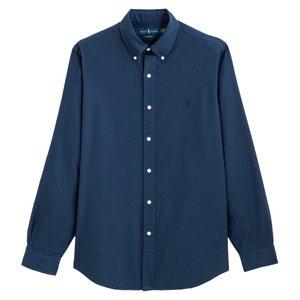 Recht hemd custom fit in oxford