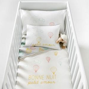Housse de couette imprimée bébé, Amabella R mini