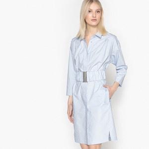 Robe chemise avec ceinture élastiquée La Redoute Collections