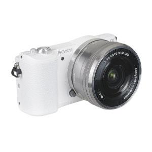 Appareil photo hybride SONY A5100 Blanc + 16-50mm Argent SONY
