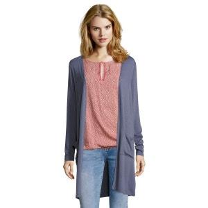 Veste en tissu avec style long fashion avec poches appliquées PUBLIC