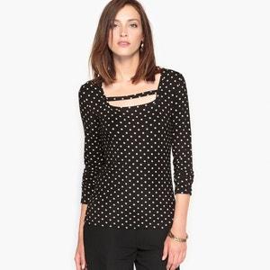 Camiseta estampada, punto ligero ANNE WEYBURN