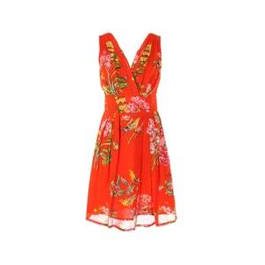 Ärmelloses Kleid mit Blumenmuster RENE DERHY