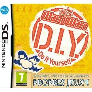 Wario Ware D.I.Y. Nintendo DS NINTENDO