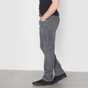 Jean stretch gris taille élastiquée côtés CASTALUNA FOR MEN