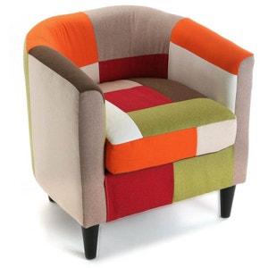 fauteuil club patchwork la redoute. Black Bedroom Furniture Sets. Home Design Ideas