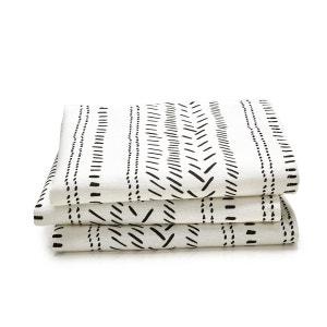 Serviettes de table imprimées, MALOJA (lot de 3) La Redoute Interieurs